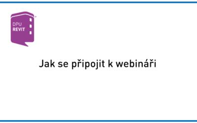 Video návod jak se připojit k webináři