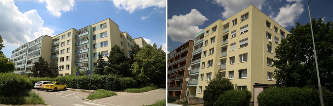Revitalizace bytového domu Blatenská 2166-2180, Praha