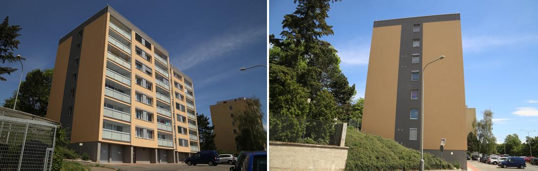 Revitalizace bytového domu Kozmíkova 1102-1103, Praha