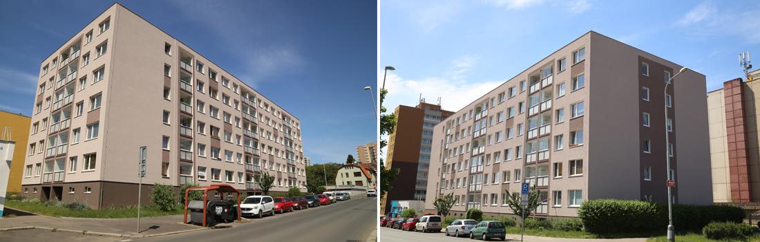 Revitalizace bytového domu Pod Jarovem 2034-2036, Praha