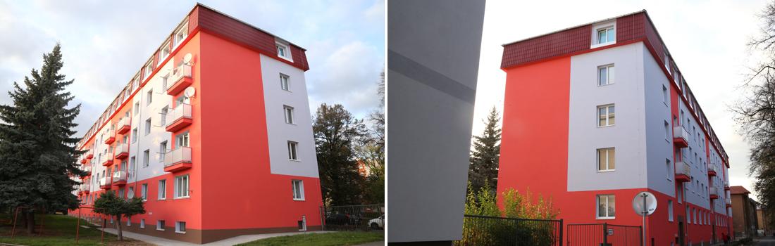 Revitalizace bytového domu Nábřeží T.G Masaryka 1572-4, Rakovník